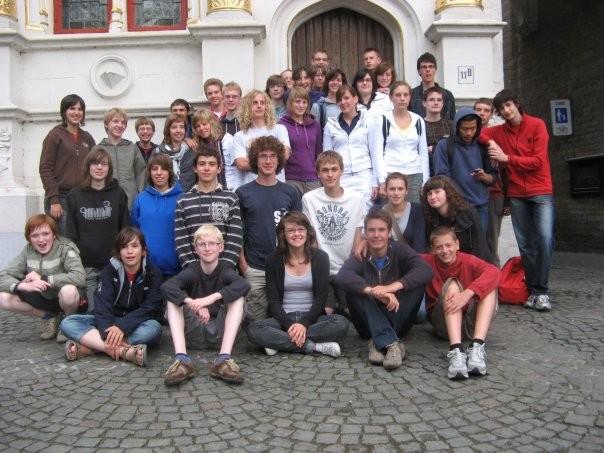 Visite de délassement du groupe à Bruges