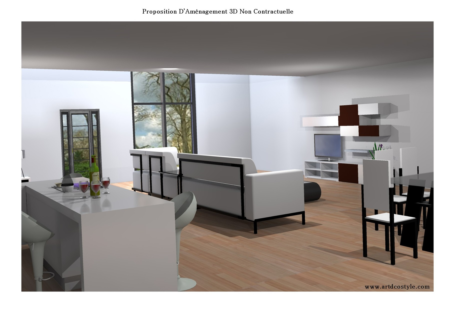 plan 3d - site de decorationmaisoninterieur !