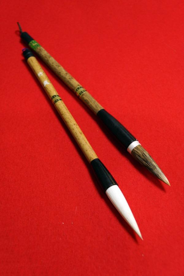 大きい作品用、新しい筆です!
