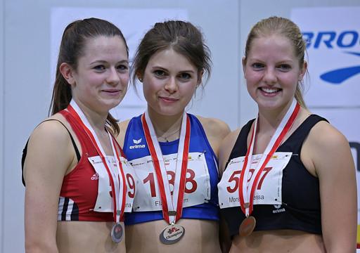 Tessa Morshuis bei der Siegerehrung