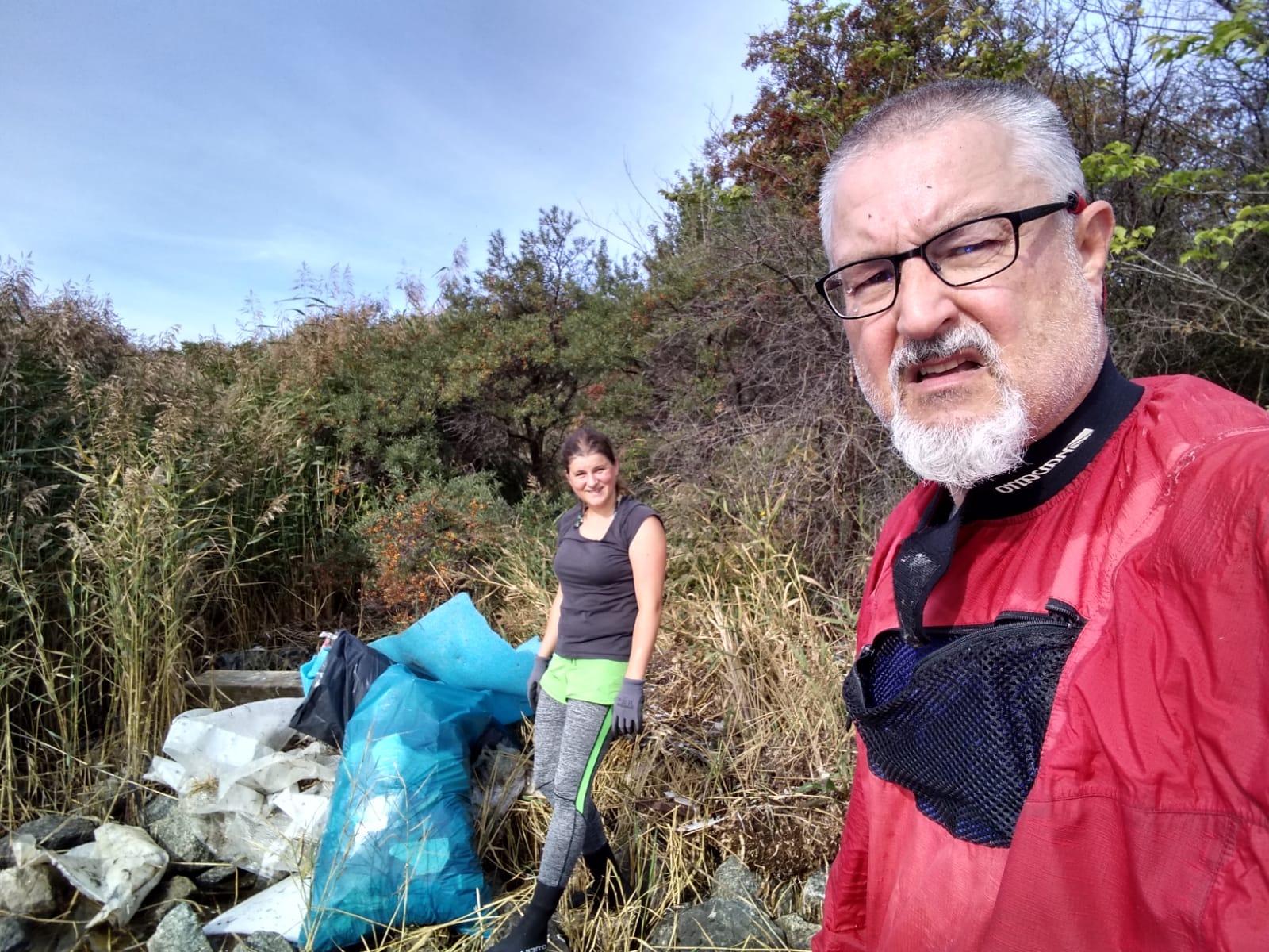 Hier kommen schnell große Müllmengen zusammen...hauptsächlich Industriemüll. Bild: O. Schätzchen