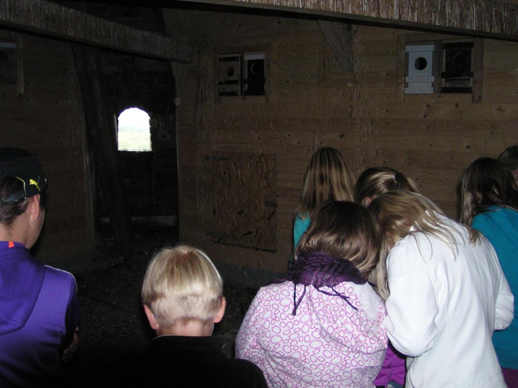 Unheimlich und doch spannend der Besuch in der Turmstube