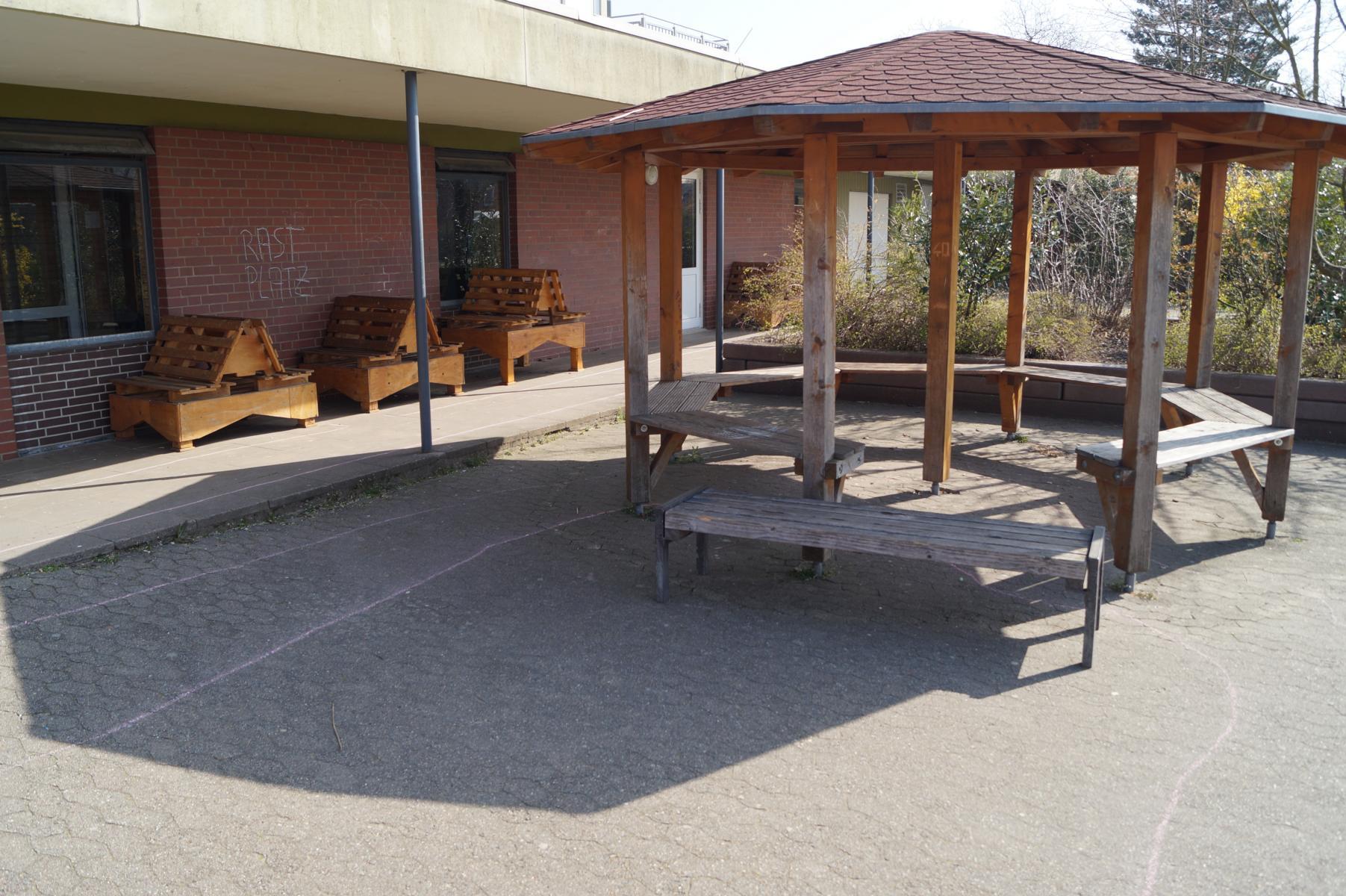 Plätze zum Entspannen