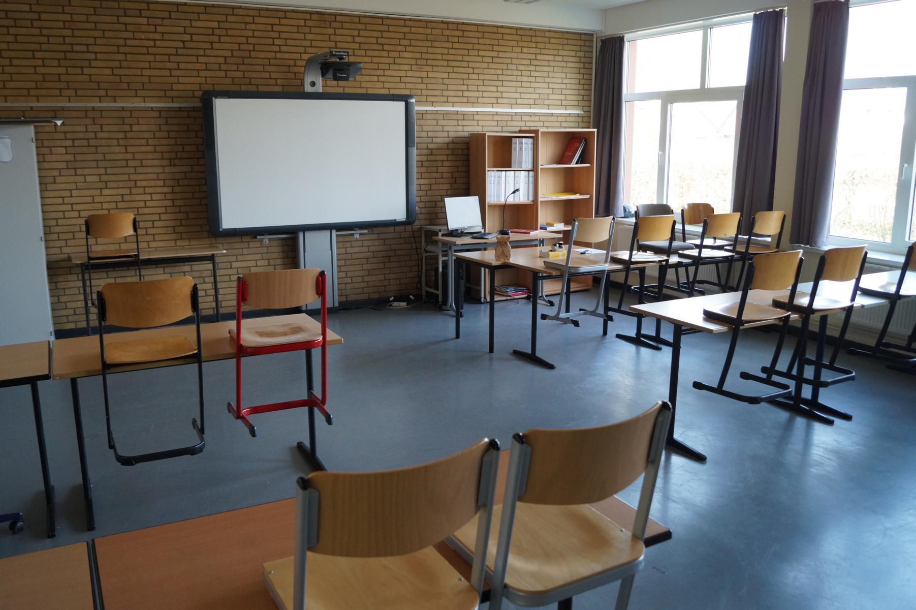 Es gibt viele Klassen mit Activeboards