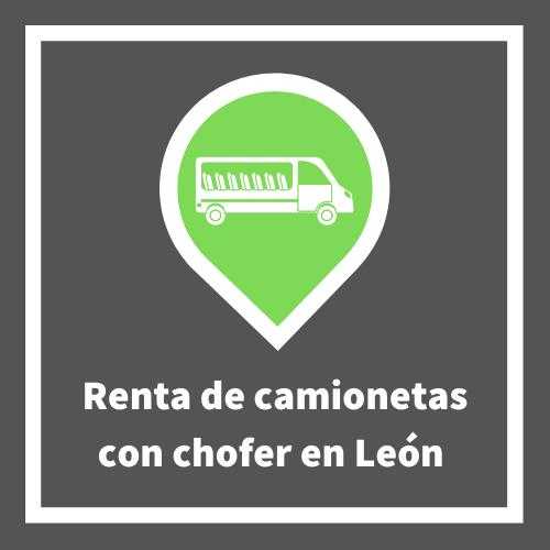 Renta de camionetas con chofer Leon Gto