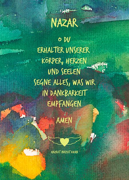 Nazar-d  Aquarell-Postkarte - Copyright Ute Andresen