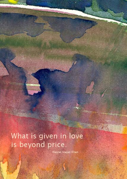 Motiv 12-e Aquarell-Postkarte - Copyright Ute Andresen