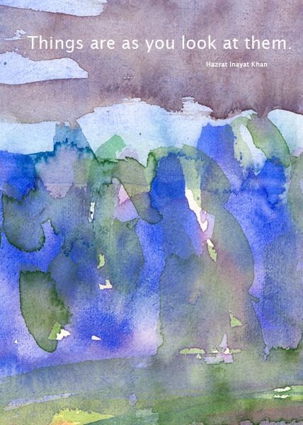 Motiv 06-e Aquarell-Postkarte - Copyright Ute Andresen