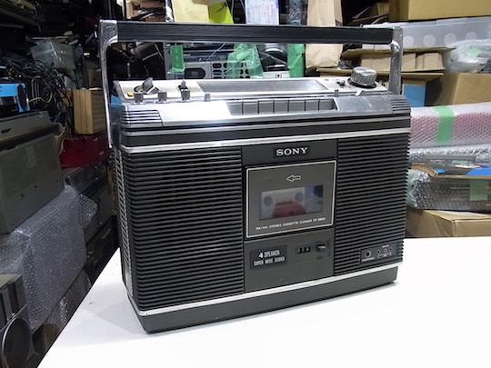 NEW  SONY  CF-3800 美品