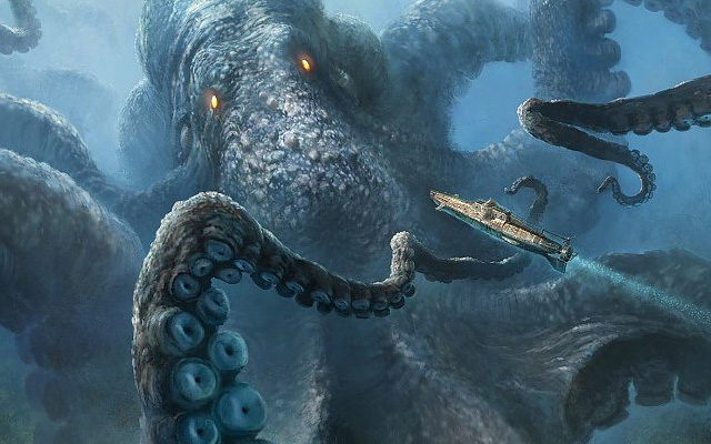 liste des animaux fantastiques legendaires kraken