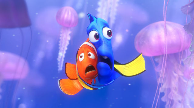 animaux walt disney nemo dory poisson clown