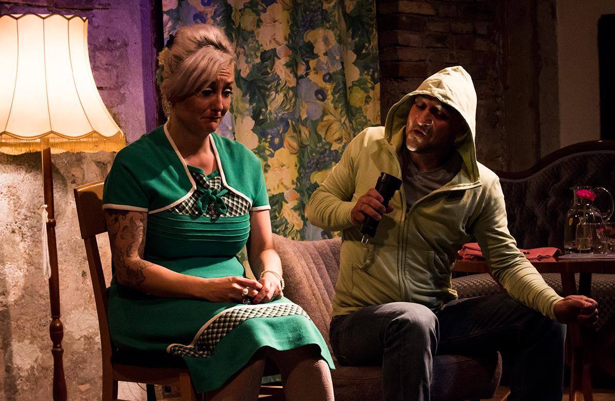 GUTE STUBE klein & GROSS | Minitheater Hannibal: Andrea Fischer Schulthess & Adrian Schulthess