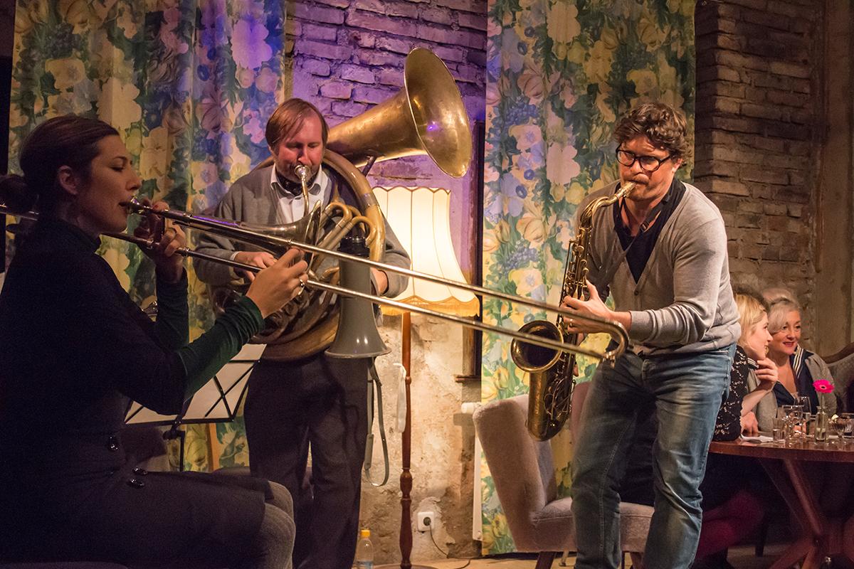 GUTE STUBE WUNSCHKONZERT | Express Brass Band