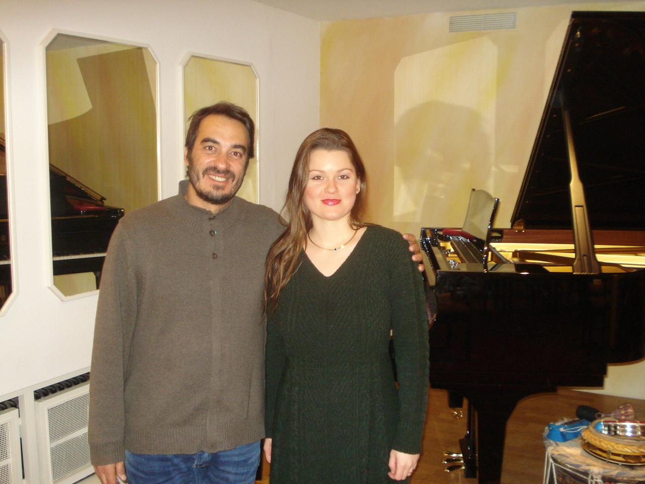 Marina Wagner e Bernardo Lobo