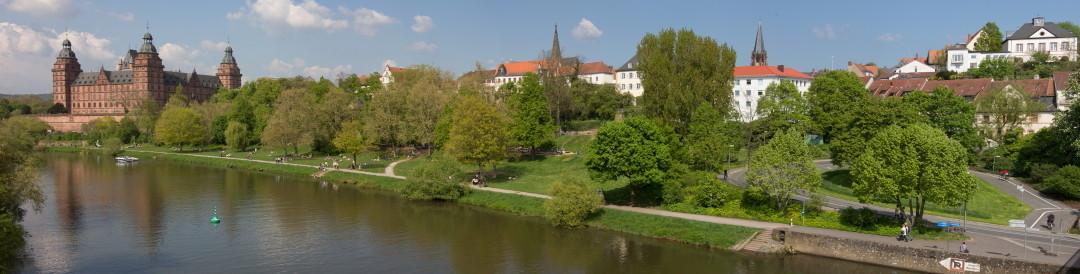 Walter Schätz: Schloßufer in Aschaffenburg