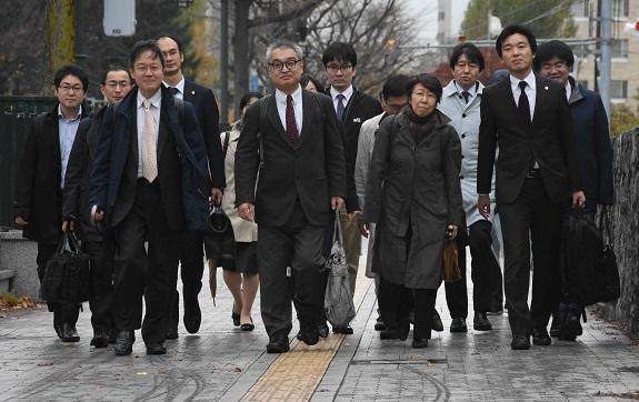 札幌地裁判決の日  2018.11.9