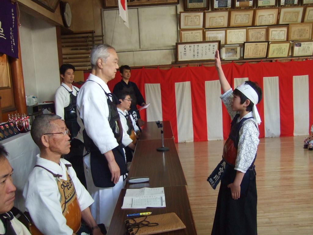 選手宣誓 宮川和己選手