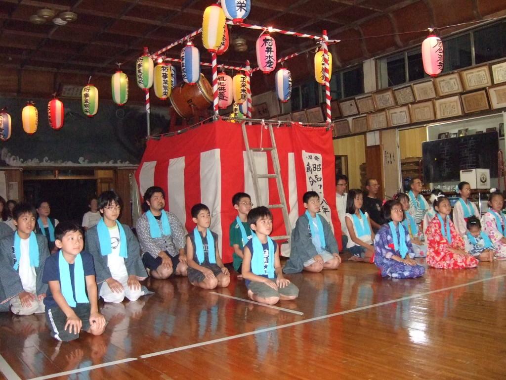 四誠館盆踊り