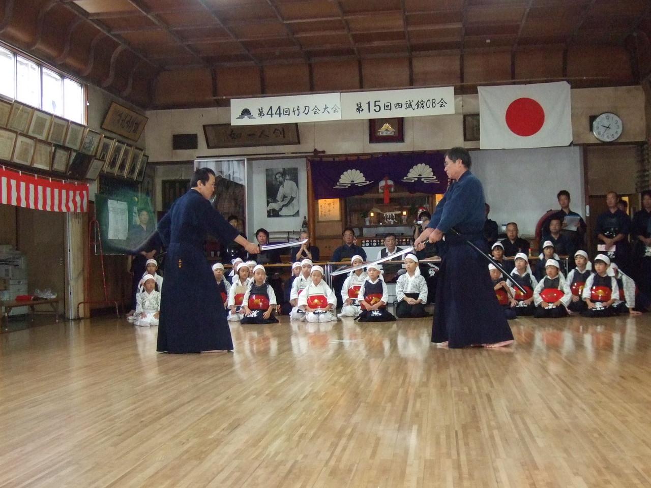 日本剣道形 打太刀 二口先生 仕太刀 三小田先生