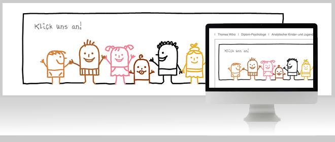 Kinderpsychologische Praxis München Website