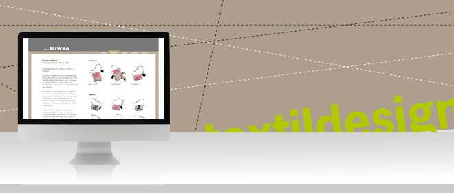 Webdesign Düsseldorf / Textildesignwebsite