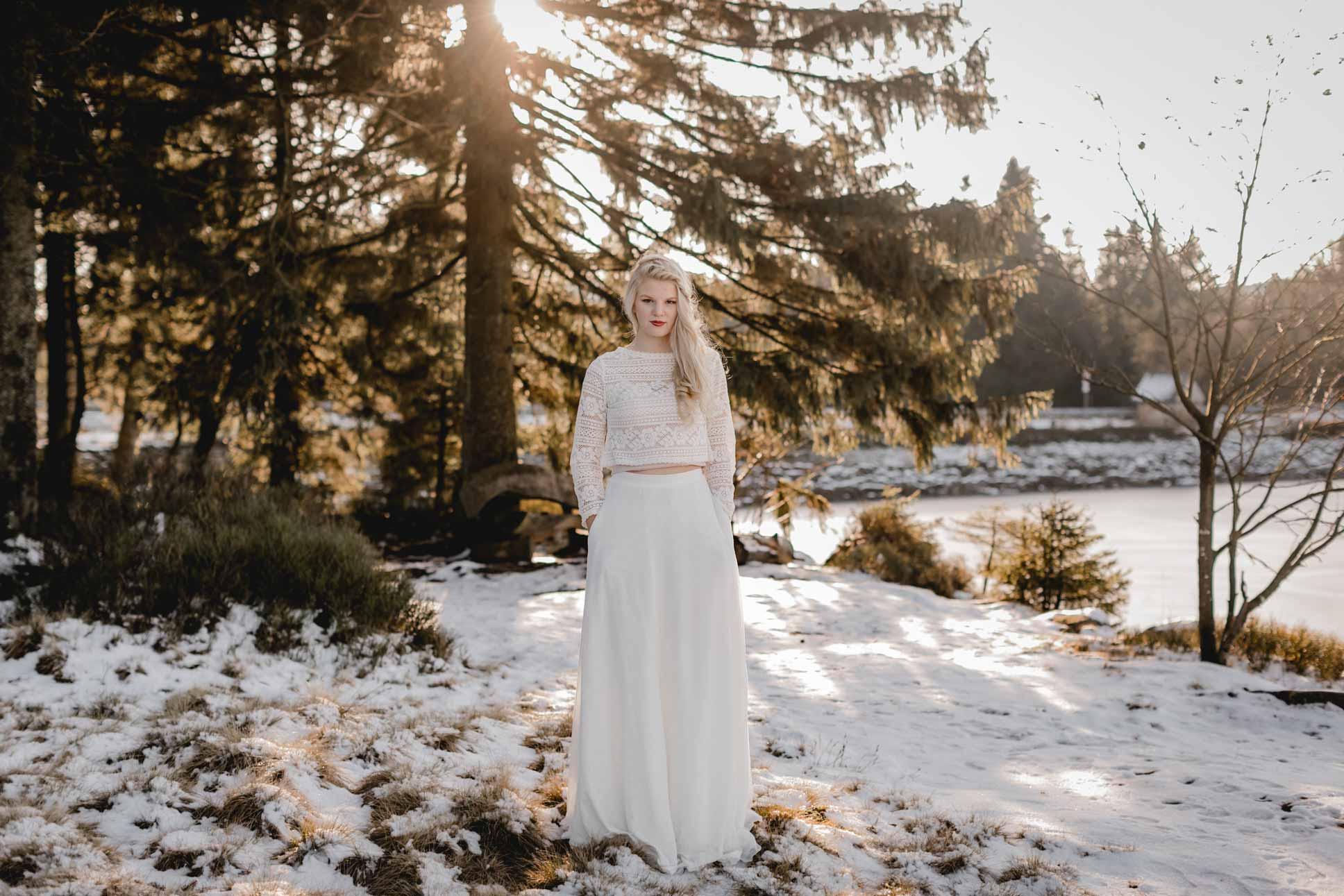 Brautkleid Standesamt - elementar I moderne Brautkleider Fotos