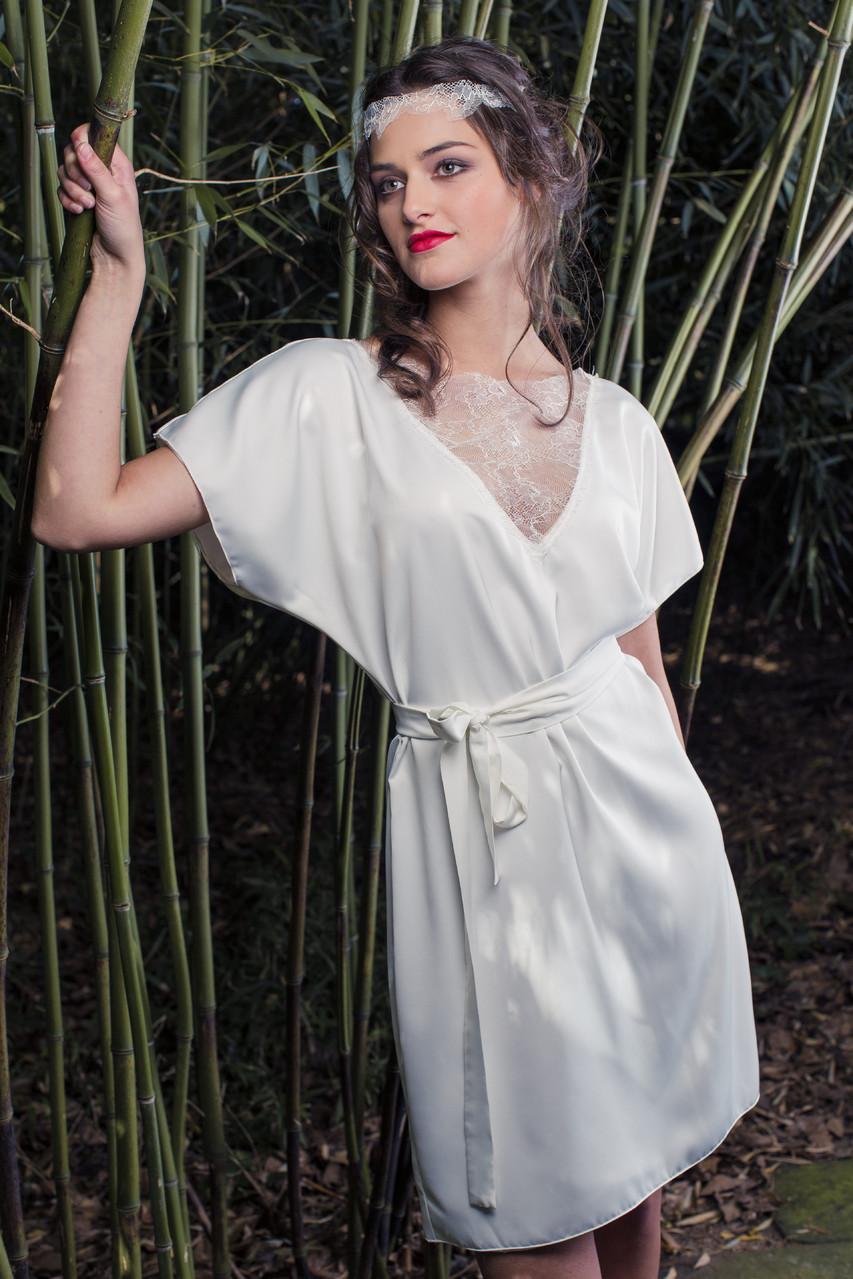 Spitzen-Brautkleider von Rike Winterberg
