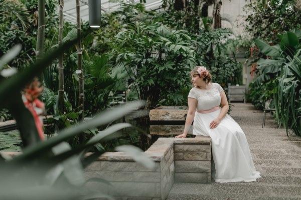 """schlichtes Vintage Brautkleid """"Naomi"""" - elementar Brautkleider 2018"""
