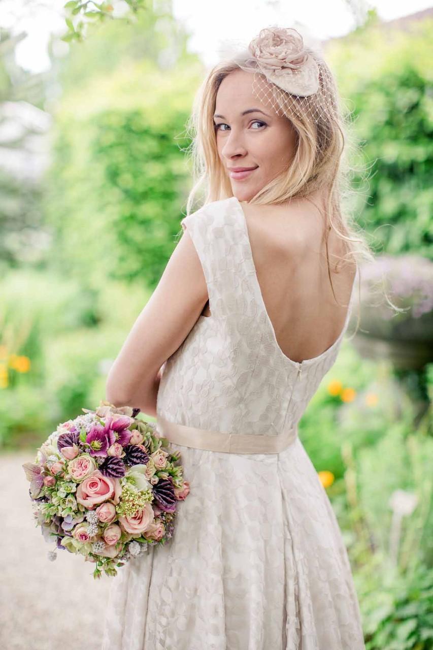"""Vintage Brautkleid """"Sonnentochter"""""""