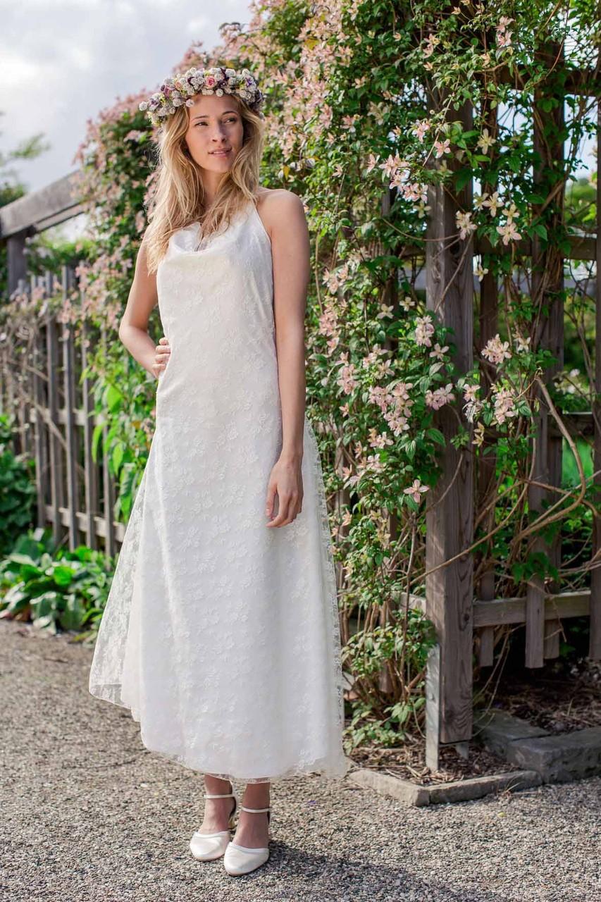 """Vintage Brautkleid """"Sternentanz"""" mit austauschbarem Überkleid"""