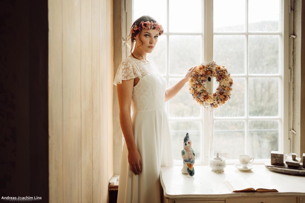 schlichte Brautkleider Kollektion von Rike Winterberg