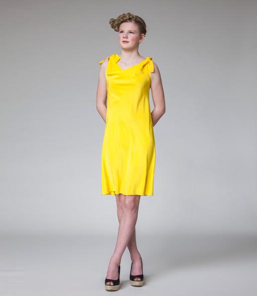 "Minikleid ""Stadtelfe"" in gelb"