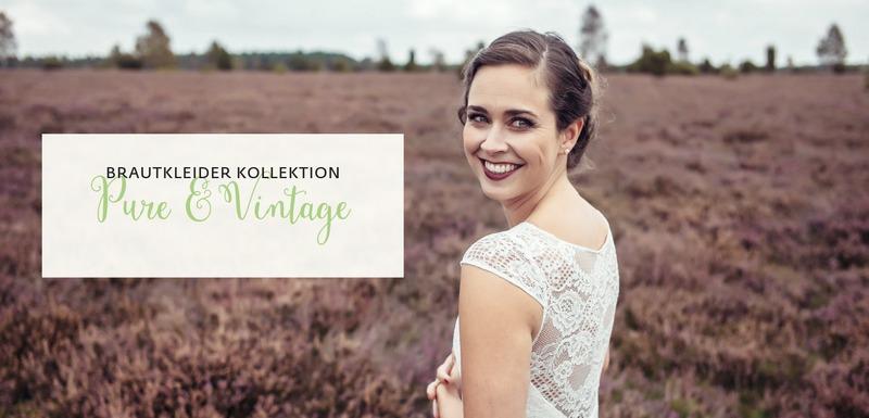 Vintage Brautkleider mit zarter Spitze