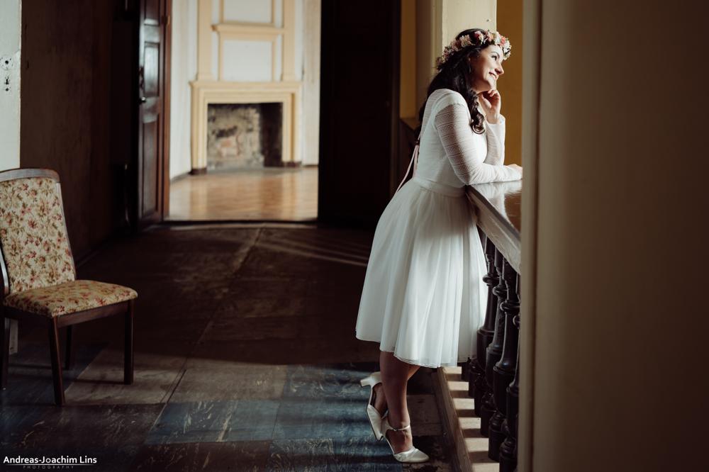 kurze Brautkleider für das Standesamt