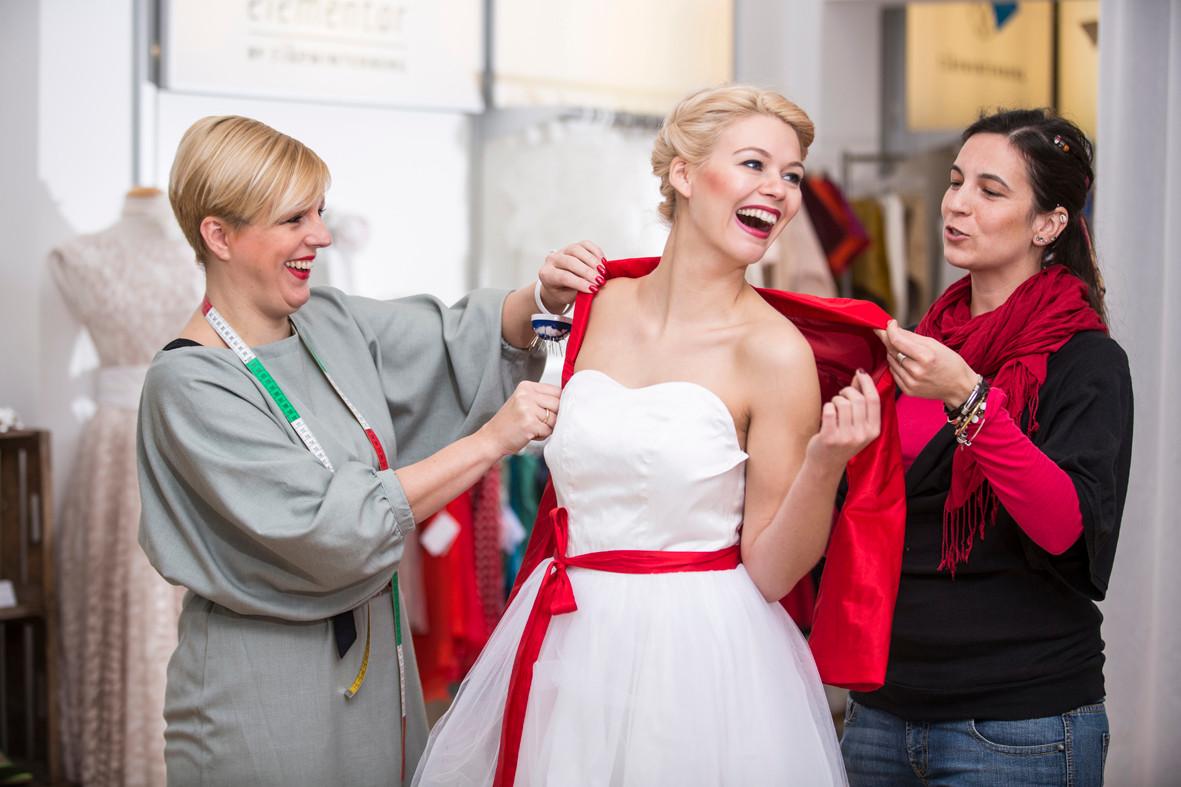 Brautkleid Designerin Rike Winterberg
