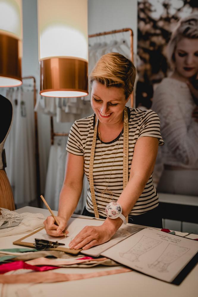 Designerin für nachhaltige Brautkleider: Rike Winterberg
