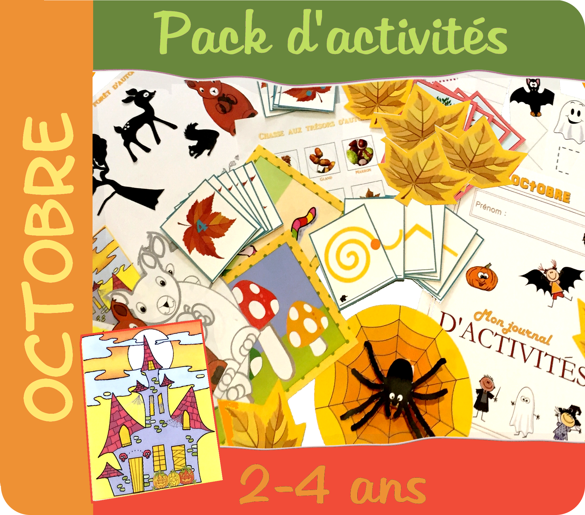 Pack Octobre La forêt