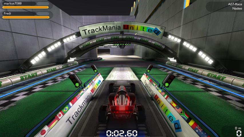 Trackmania Nation Forever Mehrspieler Modus