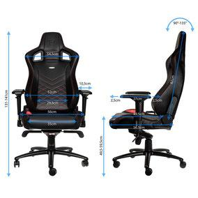 Noblechairs Epic Maße