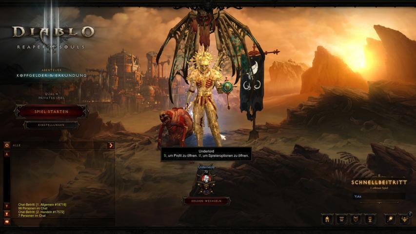 Der Totenbeschwörer in Diablo 3