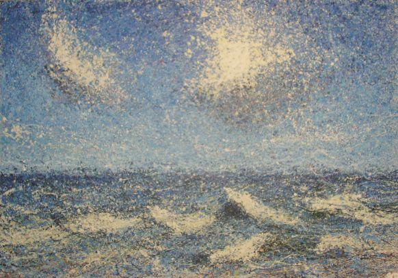 Meer, Öl auf Leinwand, 2008