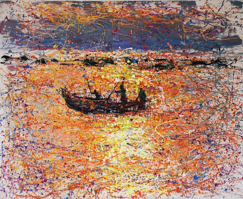 Nachdenken über die 3 Weltreligionen ( Fischer in Goa)