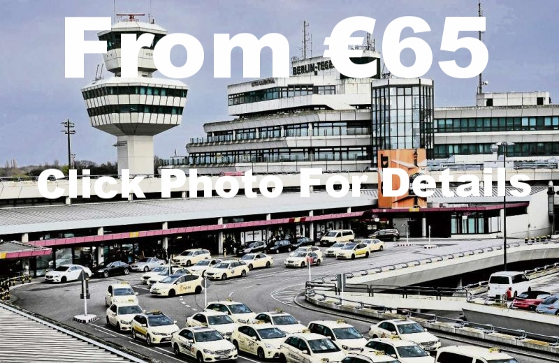 Tegel Airport as seen on Airport Transfers to and from the main city airportso