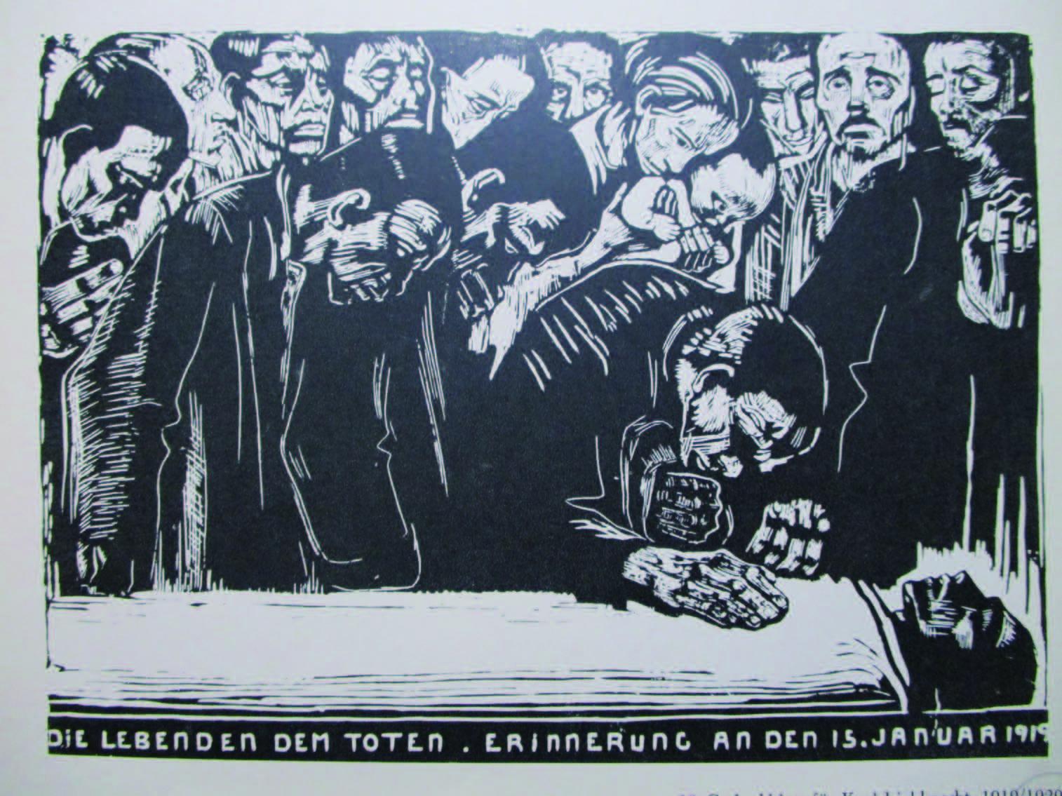 カール・リープクネヒト追悼 1920