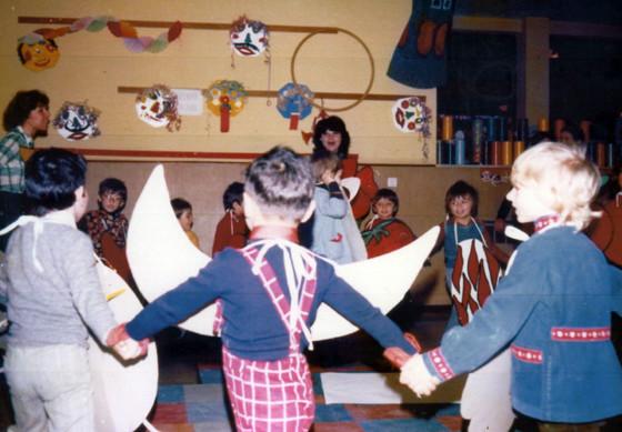 ボローニャでの研修交流 子ども達の創作ダンス