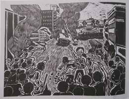 「五月-19 行こう道庁へ」1988 年