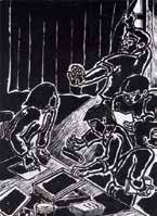 「五月-14 闘土回報1」1986 年