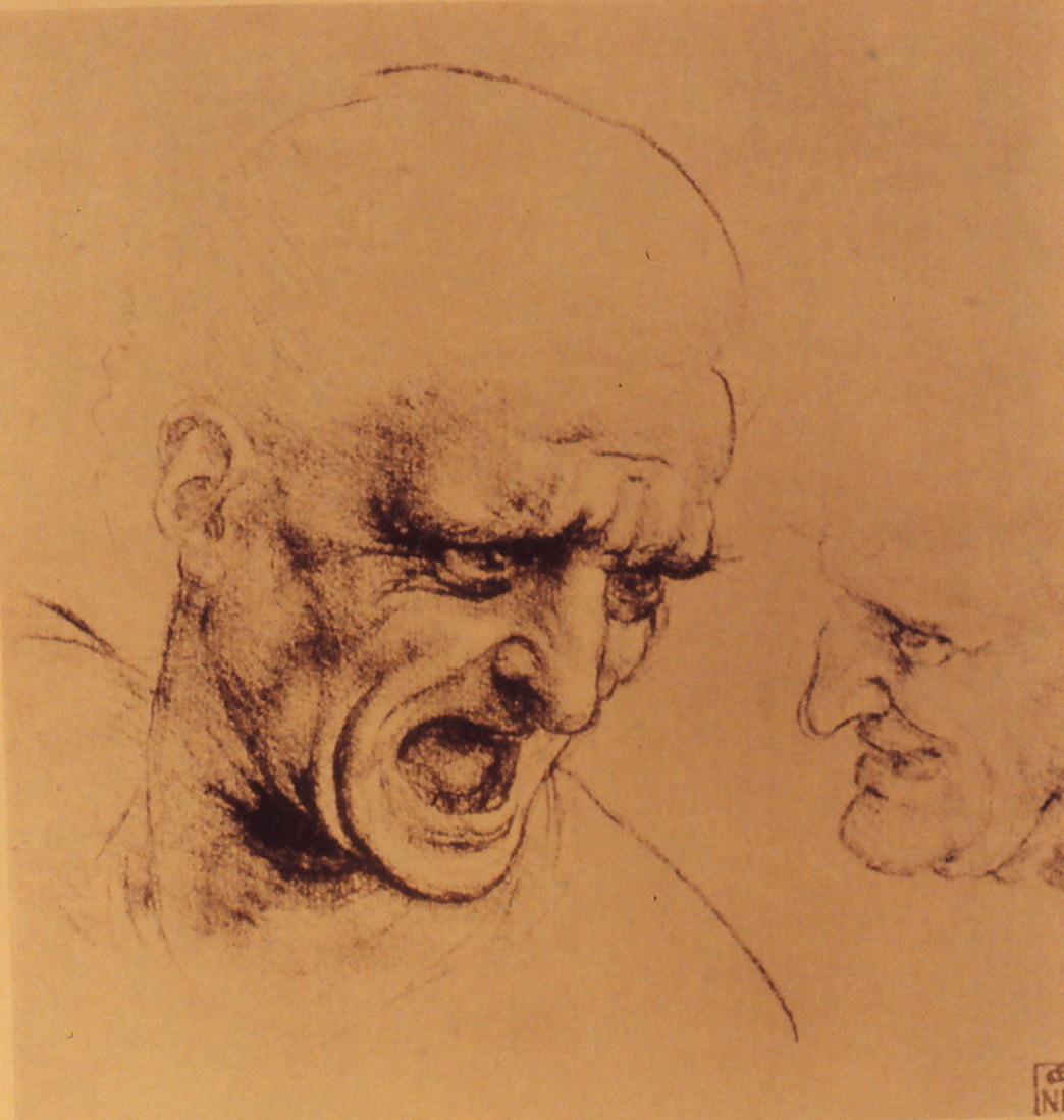 「アンギアーリの戦い」素描