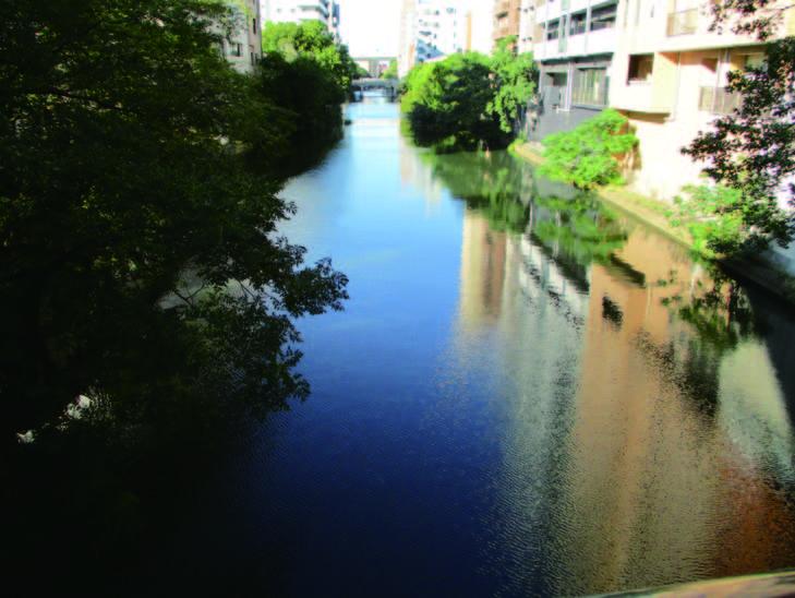 堀川(江戸・明治の水上物流の主要河川)