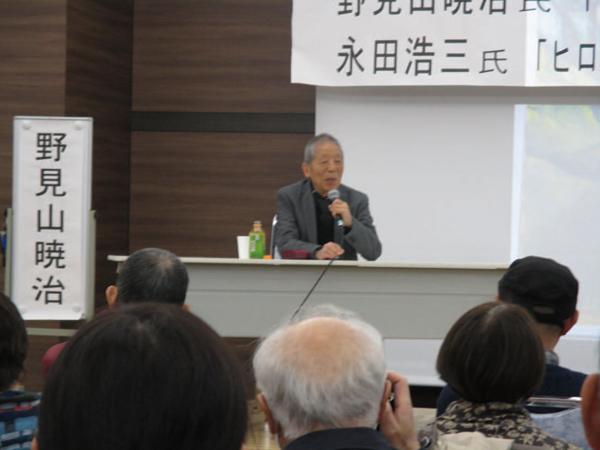 野見山暁治さんの講演
